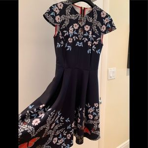 Ted Baker dress size 1 US  size 2-4 almost new